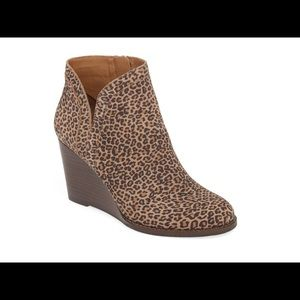 Lucky Brand Yimina Wedge Bootie